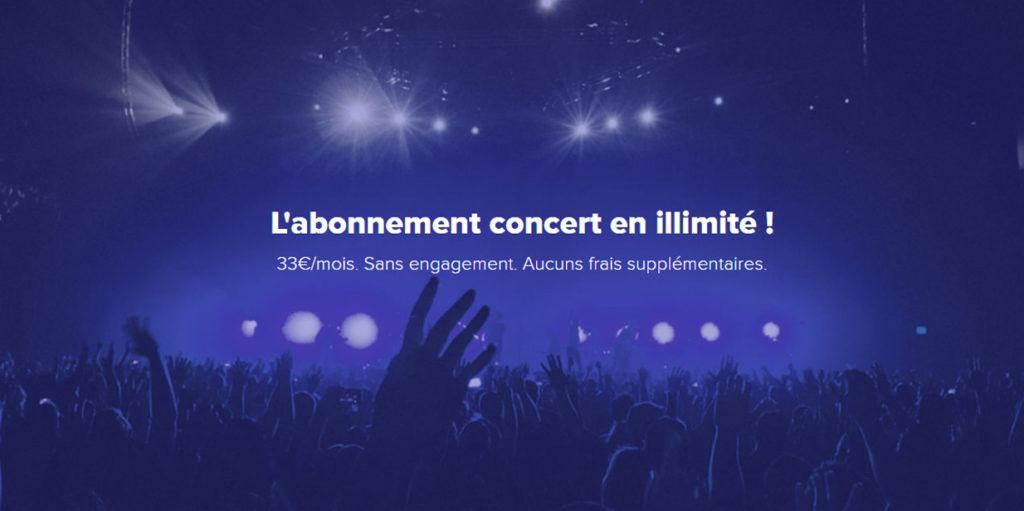 Guest Me : Abonnement concert illimité